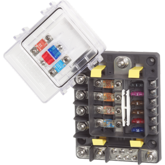 Blue Sea Safety Hub 150 Fuse Block - Marine Electrical