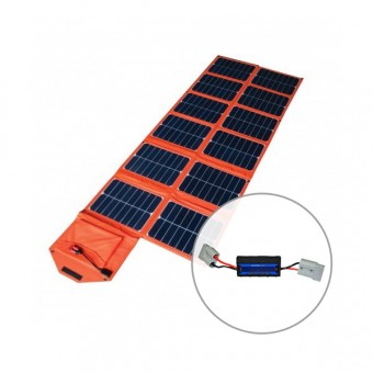 Baintuff 180w Folding Solar Blanket with Baintech Watt Meter & Power Analyzer Pack - Solar Panel Bundles