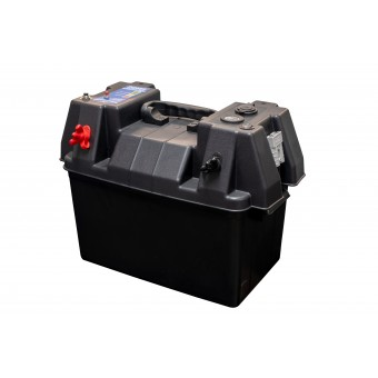 Baintech Battery Box with 12V Voltmeter - Battery Boxes