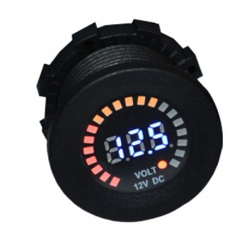 Baintech 12V LED Volt Meter - Root Catalog