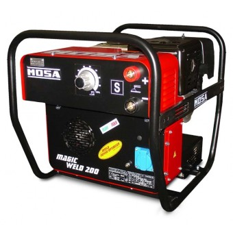 Mosa 2kva Honda 200A DC Welder Generator MAGIC WELD 200 - Petrol Welder Generators