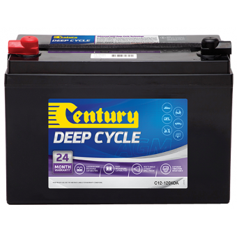 Century 12V 120Ah AGM Deep Cycle Battery - Root Catalog