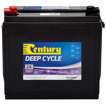 Century 12V 140Ah AGM Deep Cycle Battery - Root Catalog