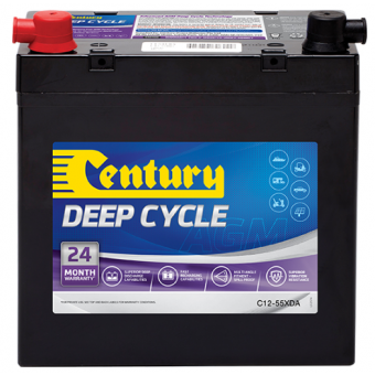 Century 12V 75Ah AGM Deep Cycle Battery - Root Catalog
