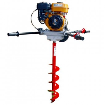 Crommelins Robin Two-Man Post Hole Digger - Diggers & Earth Augers