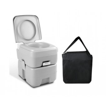 Weisshorn 20L Portable Camping Toilet with Carry Bag - Camping Bathroom