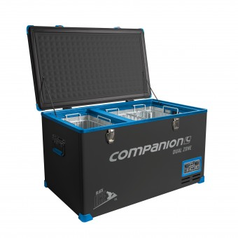 Companion Black Ice 65 Litre Dual Zone Fridge Freezer - Boating & Marine