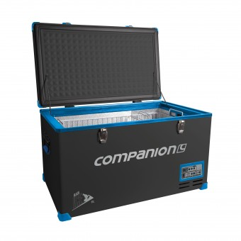 Companion Black Ice 80 Litre Fridge Freezer - Boating & Marine