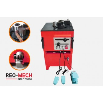 Reo Mech Electric Industrial Rebar Bender Cutter 4-25mm CRBC-25 - Rebar Tools