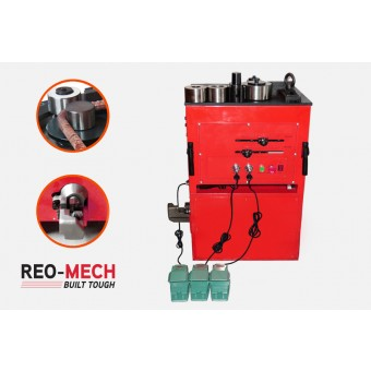 Reo Mech Electric Industrial Rebar Bender Cutter 6-32mm CRBC-32 - Rebar Tools