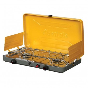 Gasmate Deluxe 2 Burner Gas Stove - Camping Cooking Appliances