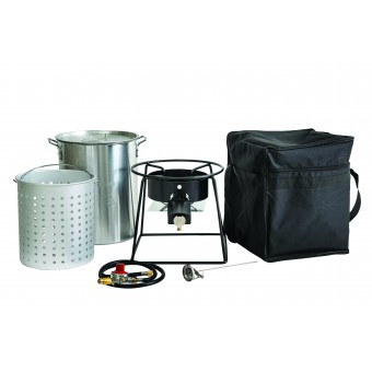 Gasmate High Output Cooker & Pot Set - Camping Cooking Appliances