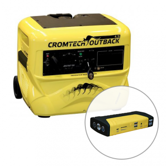 Cromtech 4500w Inverter Generator Electric Start - Root Catalog