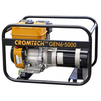 Cromtech Petrol 6.0kVA, powered by Robin - Crommelins Generators Best Sellers