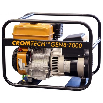 Cromtech Petrol 8.5kVA, powered by Robin - Crommelins Generators Best Sellers