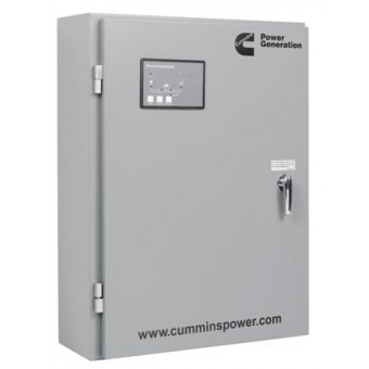 250A Automatic Transfer Switch Panel Cummins GTEC IP54 Enclosure - Generators & Power