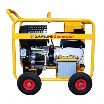 Crommelins 5.4kVA Generator Worksite Approved - Generators & Power