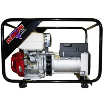 Dunlite Honda 8kVA Generator - Portable Petrol Trade Generators - Best Seller