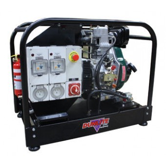 Dunlite 7 kVA Mine Spec Lister Petter Powered Diesel Generator - Mine Specification Diesel Generators