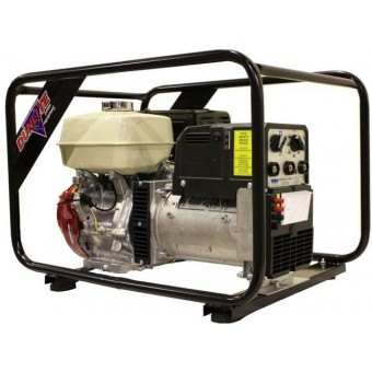 Dunlite 7kVA Welder Generator Powered by Honda - Petrol Welder Generators