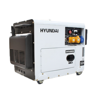 Hyundai DHY6000SERS 6.5kVA AVR Diesel Portable Generator with 2 Wire Remote Start - Root Catalog