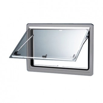 Dometic S4 Silver 34 mm Window, Tinted, Varied Dimensions - Caravan Windows