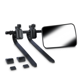 Dometic SMF102 Flat Towing Mirror, Pair - Vehicle Mirrors
