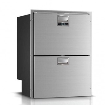 Vitrifrigo DRW180A Stainless Steel 2 Drawer Fridge Freezer 150L - Caravan Compressor Fridges