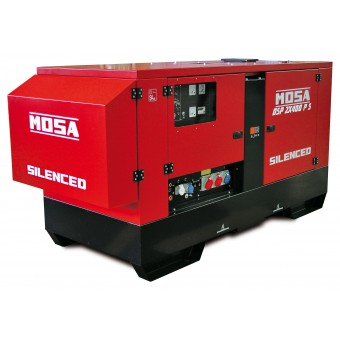Mosa 40kva Three Phase 400A Diesel Arc Welder Generator DSP 2x400 - Root Catalog