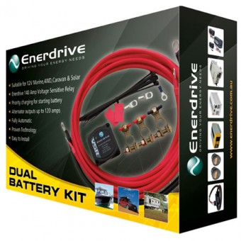 Enerdrive DIY Dual Battery Kit - Dual Battery Kits, Isolators & Relays