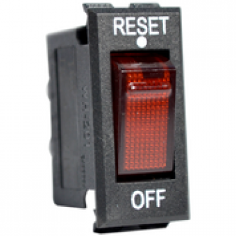 Enerdrive 12V/24V 16A DC Switch Breaker, Red - Root Catalog