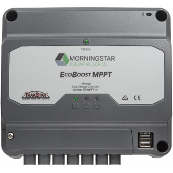 Morningstar EcoBoost MPPT 40 Amp Solar Controller - Root Catalog