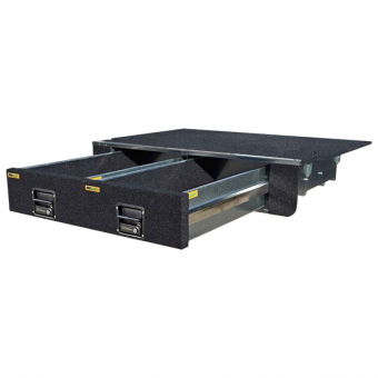 RV Storage Solutions EcoLite Twin Drawer System, to suit Nissan models - Internal Vehicle Accessories
