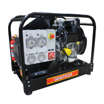 Gentech 8.5kVA Mine Spec Generator, Kohler Engine - Mine Specification Diesel Generators