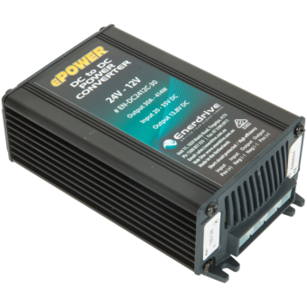 Enerdrive 24V-12V 30A DC to DC Converter Non Isolated - Boating & Marine