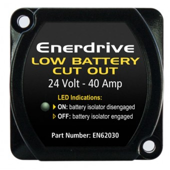 Enerdrive 24V 40A Low Battery Cut Out - Battery Monitors & Protection