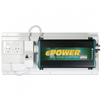 Enerdrive ePOWER 1000W Sine Wave Inverter with RCD+GPO - 12V Off Grid Inverters