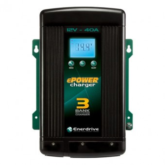 Enerdrive ePOWER 12V 40A Battery Charger - Off Grid Solar & Appliances