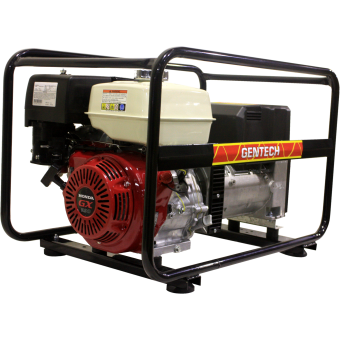Gentech 7kVA Welder Generator Powered by Honda - Petrol Welder Generators