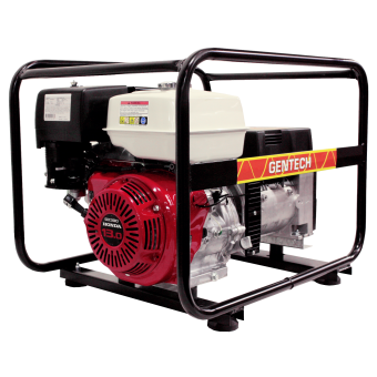 Gentech Honda 8kVA Generator - Portable Petrol Trade Generators - Best Seller
