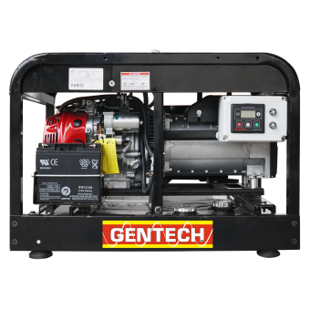Gentech 8 kVA Honda Powered Remote Start Generator - Auto Start Generators For Off Grid Solar