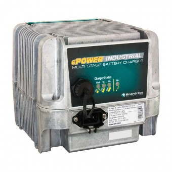 Enerdrive ePOWER 24V 30A Industrial Battery Charger - AC to DC Battery Chargers