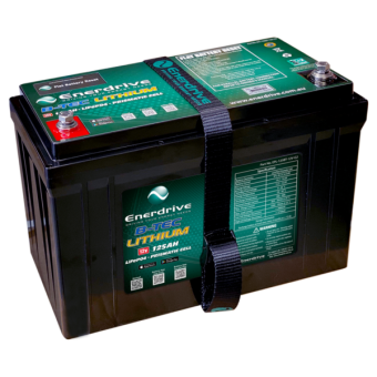 Enerdrive ePOWER B-TEC 125Ah Lithium Battery - Batteries & Power Systems