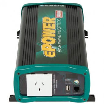 Enerdrive ePOWER 1000W Pure Sine Wave Inverter - 12V Off Grid Inverters