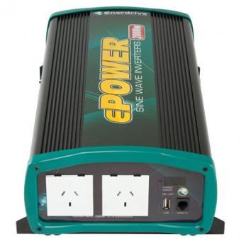 Enerdrive ePOWER 2000W Pure Sine Wave Inverter - Caravan Rv Camping - Best Seller