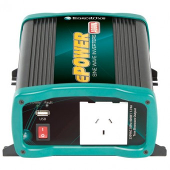 Enerdrive ePOWER 500W 24V Pure Sine Wave Inverter - Off Grid Inverters