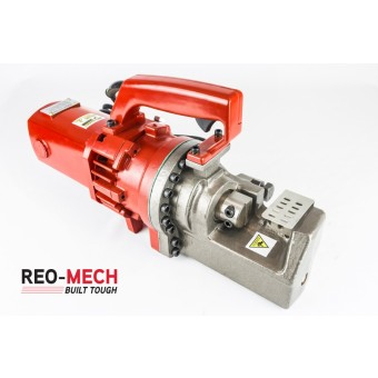 Reo Mech Electric Rebar Cutter 25mm ERC-25 - Rebar Tools