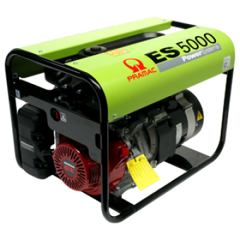 Pramac Honda 5kVA Petrol AVR Generator - Manual Start Generators