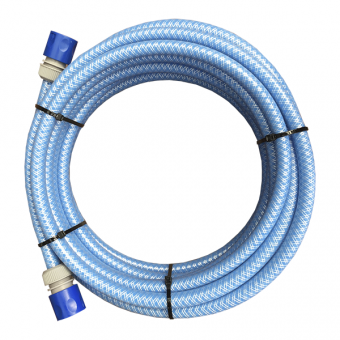 Stand at Ease 10m ESDAN Water Hose with hose ends - Caravan Water Fillers