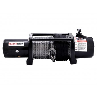 Runva EWL9500 Winch with Synthetic Rope - Caravan Hardware & Accessories